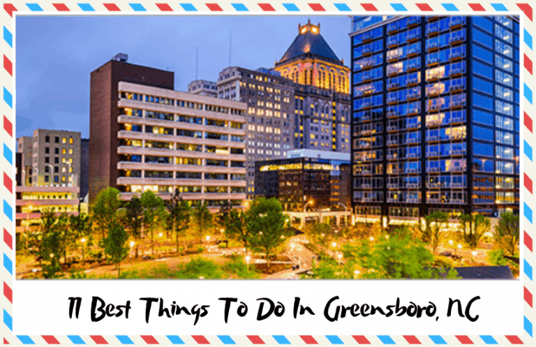 The Best Things to do in Greensboro, NC: A Visitor's Guide