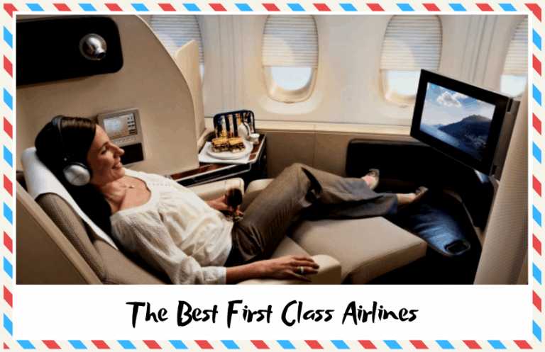 The Best First Class Airlines: How Far Will Your Money Go?