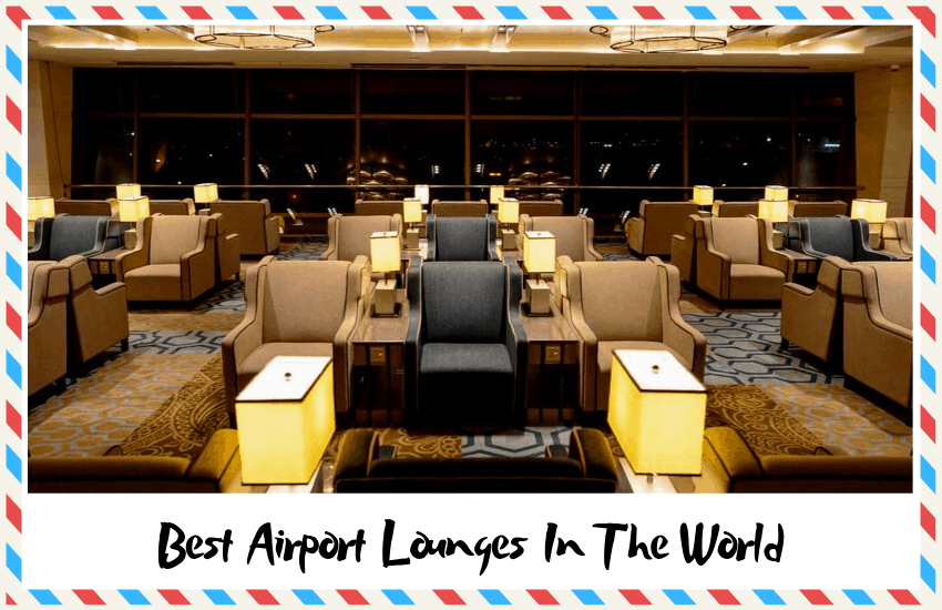The Airlines that Offer the Best Airport Lounges in the World