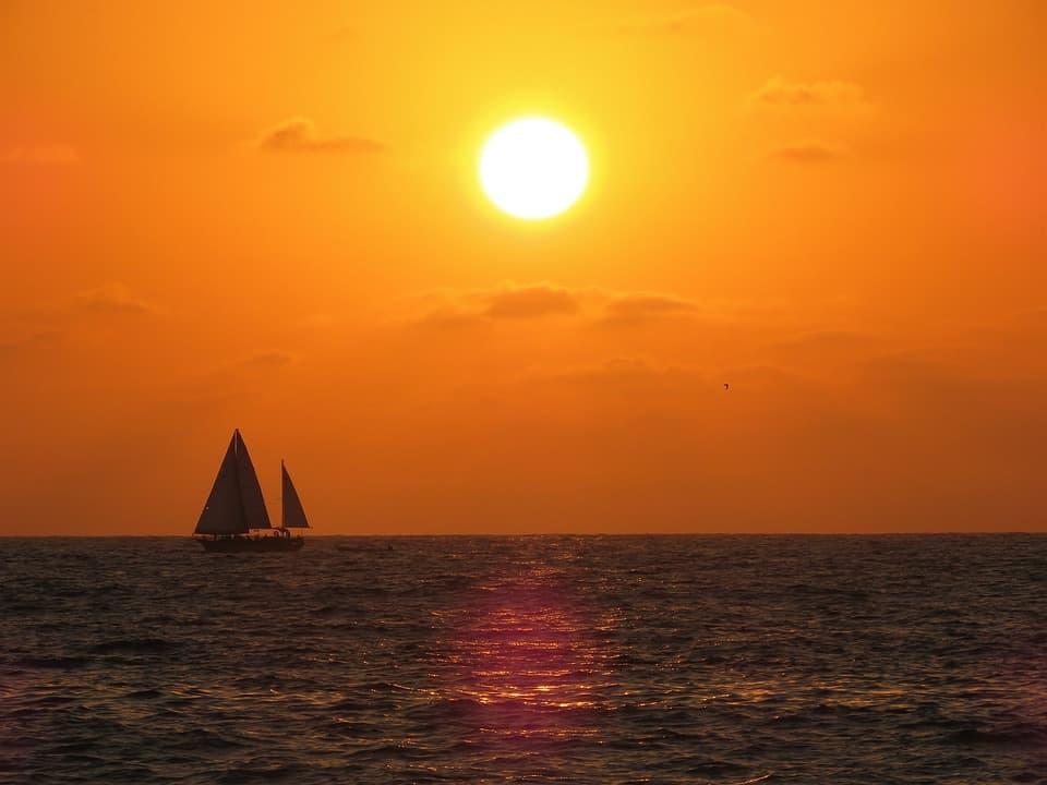 sunset at puerto vallarta